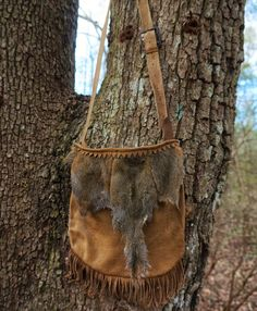 Contemporary Makers: Hunting Pouch by Clifton Hicks
