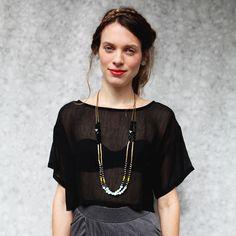 cloth, fashion styles, dress, necklac, inspir, closet, accessories, black, shirt
