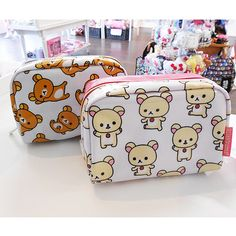 Find images and videos about cute, kawaii and bag on We Heart It - the app to get lost in what you love. Kawaii Shop, Kawaii Cute, Cute Stationary, Kawaii Accessories, Cute School Supplies, Kawaii Stationery, Cute Japanese, Rilakkuma, Cute Bags