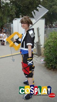 Sora Cosplay from Kingdom Hearts in RIMINI COMIX 2012 Italy