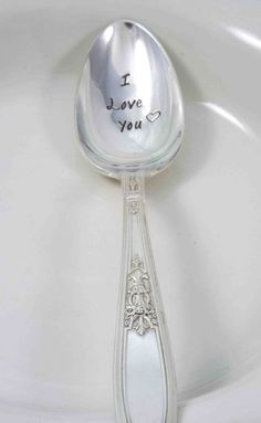 Hey, I found this really awesome Etsy listing at https://www.etsy.com/listing/200754848/coffee-spoon-tea-spoon-i-love-you-spoon