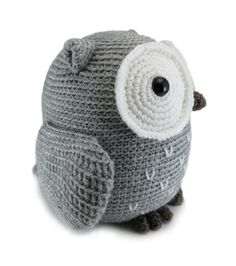 **IMPORTANT: When you are purchasing this item you are buying two digital PDF crochet patterns (automatic downloads), NOT the finished toys.**  Crochet both a large cuddly amigurumi owl and a wee little one. Included are the crochet patterns for a large owl measuring about 9 inches tall AND a small (hand sized) owl measuring about 4.5 inches long when using worsted weight yarn.  [NOTE: Only want one pattern? You can find the individual patterns within my shop!]  The patterns include detailed…