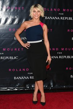Julianne Hough in Roland Mouret for Banana Republic