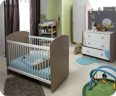 Chambre b b on pinterest bebe decoration and deco - Idee deco chambre bebe garcon ...