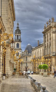 Stanislas Square, Nancy, France. My French teacher was from here. So I know not to say it like the name Nancy