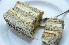 Торт Царица Эстер - нежнейший маковый торт с невесомыми коржами и сливочно-заварным кремом. Пошаговый рецепт с фото.