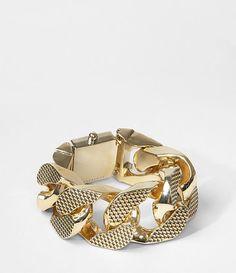 Womens Teneil Bracelet (Gold) | ALLSAINTS.com