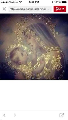 Blessed Mother & Jesus