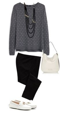 """""""Check In."""" by marykatetus on Polyvore featuring Old Navy, MANGO, Tod's, Chanel and Marc by Marc Jacobs"""