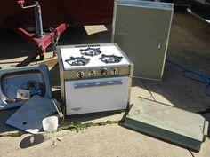 1969 Shasta Compact Appliances