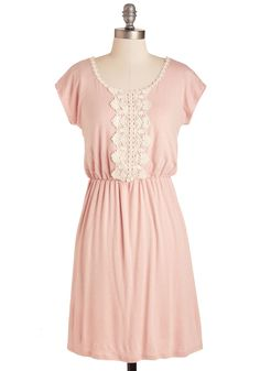 Road to Rhode Island Dress. Providence awaits, so hit the highway with bountiful brio in this petal pink dress! #pink #modcloth
