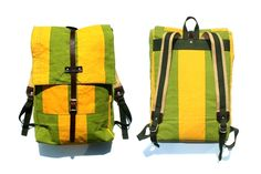 """Now in stock: Archival Clothing for Wilderness Workshop Rucksack. These sturdy backpacks are made from deadstock Tent Drill"""" canvas, and each bag in this series is hand numbered. Made in Springfield, Oregon, with love. Springfield Oregon, Men's Apparel, Everyday Carry, Baggage, Men's Style, Wilderness, Sewing Ideas, Drill, Tent"""