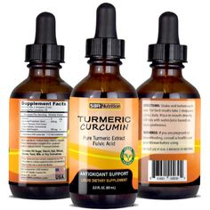 SBR NUTRITION Turmeric Extract, Liquid Vitamins, Stem Cells, Health Care, Nutrition, Wellness, Personal Care, Pure Products, Bottle