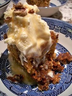 Brooke Bakes : Sticky Toffee Pudding