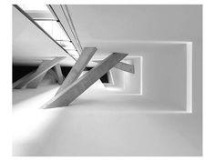 Gerard Jonkman Premium Thick-Wrap Canvas Wall Art Print entitled Corridor, None Space Architecture, Architecture Details, Concrete Architecture, Canvas Wall Art, Wall Art Prints, Framed Prints, Canvas Prints, Comme Des Garcons, Corridor