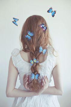 Fotografia Butterfly catcher de Maja Topčagić