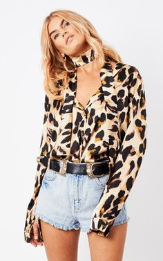 Looking for Tops? Call off the search with our Chester Shirt Leopard. Shop unique fashion at SilkFred Leopard Shirt, Signature Style, Unique Fashion, Your Hair, Chester, My Style, How To Wear, Shirts