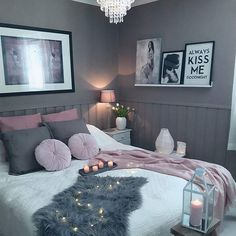 Teen bedroom decor ideas and color scheme and Bedding ideas and color scheme @fashionzine by @kristingronas . . . For Shopping Stylish Outfits Check Link In Bio