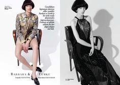 Barbara for Harper's Bazaar TR