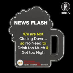#NewsFlash #Drink Responsibly  Be a Smart #Alcohol Drinker
