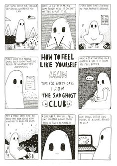 "thesadghostclub: "" Here's the limited A3 print you can get if you contribute to our Indiegogo campaign. I know quite a few of you wanted this as a print, so here's your chance to grab one! To..."