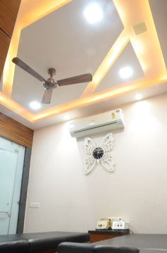 Best Interior designer in Raipur : Known for their quality work and committments. A dream design is designed here. Call them to get an Idea about Interior Design Ceiling Ideas, Ceiling Fan, Ceiling Lights, Best Interior, Room Interior, Interior Design, False Ceiling Design, Massage Room, Reflection