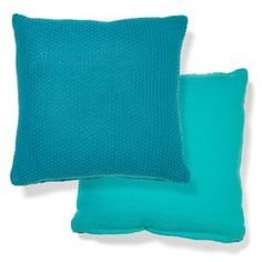 Knitted Cushion - Teal - Home Accessories | Kmart