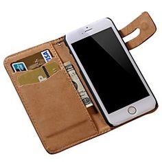 zacht patroon pu lederen portemonnee hoes voor iPhone 6s 6 plus