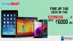 91da2f56c Huge Saving On Branded Mobiles and Tablets at  Snapdeal Online Coupons