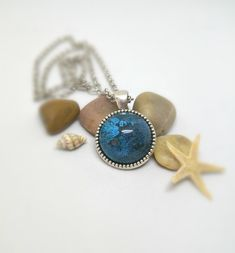 A unique gift handmade Gifts For Women, Gifts For Her, Unique Gifts, Handmade Gifts, Real Flowers, Resin Jewelry, Turquoise Necklace, Birthday Gifts, Gemstone Rings