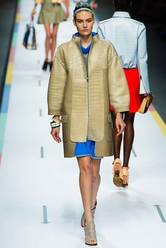 Fendi Spring 2013 Ready-to-Wear Fashion Show - Maria Bradley