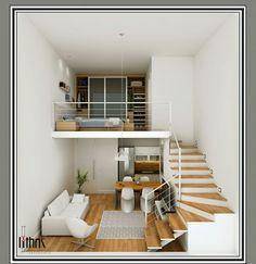 Loft pequeno moderno