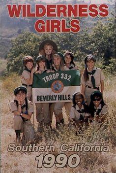 twelve-sixteen:  Troop Beverly Hills Can i be a Wilderness Girl...