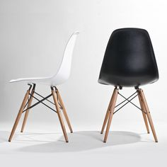 tower wood black chair