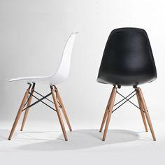 tower wood black chair