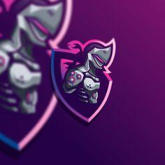 Robot Logo, Logo Dragon, Ninja Logo, Team Logo Design, Hacker Wallpaper, Logo New, Esports Logo, Sports Team Logos, Mobile Legend Wallpaper