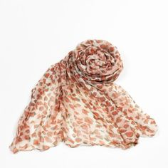 http://www.artfire.com/ext/shop/studio/bohemiantouch/1/1/10311//  Leopard Shawl Celebrity Look Salmon Blush Tone Soft Touch Fashion Shawl Scarf, scarf is a great addition to your collection of fashion accessories. Perfect for all year round.
