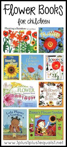 Flower Books for Kids