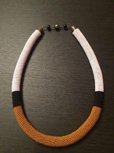 17 #ropenecklace Crochet Necklace Pattern, Bead Crochet Patterns, Crochet Bracelet, Rope Necklace, Beaded Necklace, Beaded Bracelets, Seed Bead Jewelry, Beaded Jewelry, Bead Crochet Rope
