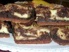 Quadrotti di brownies all'Arancia