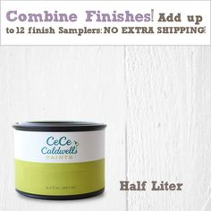 Buy Cece Caldwell Finishes Online - Endurance Finish (Half Liters and Samplers)