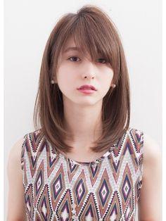 【ROULAND南出】うざバング×ナチュラルワンカール - 24時間いつでもWEB予約OK!ヘアスタイル10万点以上掲載!お気に入りの髪型、人気のヘアスタイルを探すならKirei Style[キレイスタイル]で。