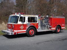 Friday Harbor Fire Department Engine 6 (2008-2010); 1978 Seagrave 1500/500.  Former Oak Harbor Fire Department. #fireapparatus #pumper #seagrave #vintagefireapparatus