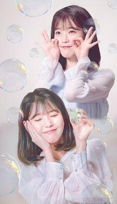 IU (아이유) / Lee Ji Eun (이지은) K Pop Star, Iu Fashion, Korean Actresses, Ulzzang Girl, Little Sisters, K Idols, Korean Singer, Spirit Animal, Cute Wallpapers