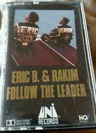 ERIC B & RAKIM FOLLOW THE LEADER RAP HIP HOP CASSETTE MICROPHONE FIEND