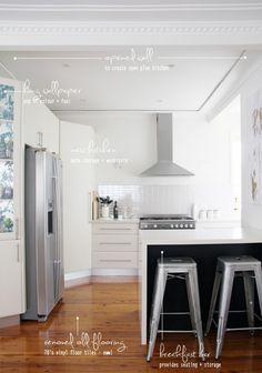 pretty kitchen via @Vivian Mansour