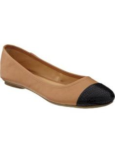 Old Navy flats - $22.94. And it might just be warm enough to wear 'em this week.