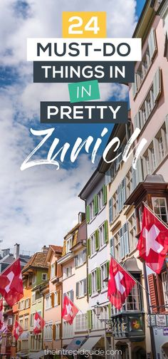 Itinerary: 24 Awesome Things to Do in Zurich in 48 Hours Top 24 Things to do in ZurichTop 24 Things to do in Zurich Europe Travel Tips, Travel Guides, Travel Destinations, Budget Travel, European Destination, European Travel, Zermatt, Suiza Zurich, Cool Places To Visit