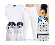 """Don't Kill The Fun x Sevyen Streeter ft. Chris Brown"" by queenswag245 ❤ liked on Polyvore featuring Topshop, MCM and Retrò"