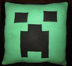 Minecraft pillow for Luke's room